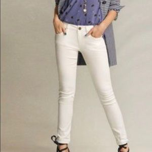 CAbi Jeans NWT white size 10 high skinny